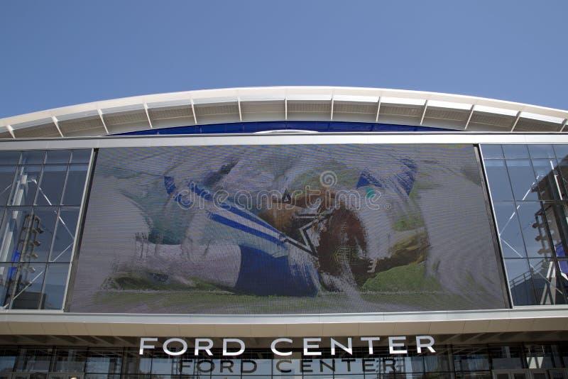 福特中心在城市Frisco TX 库存图片