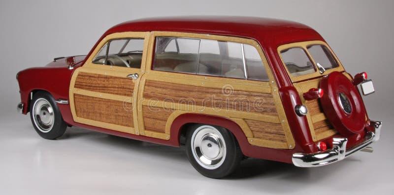 福特木质的无盖货车1949年 免版税库存照片
