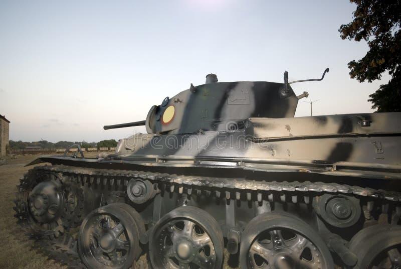 福特莱萨军人坦克 免版税图库摄影