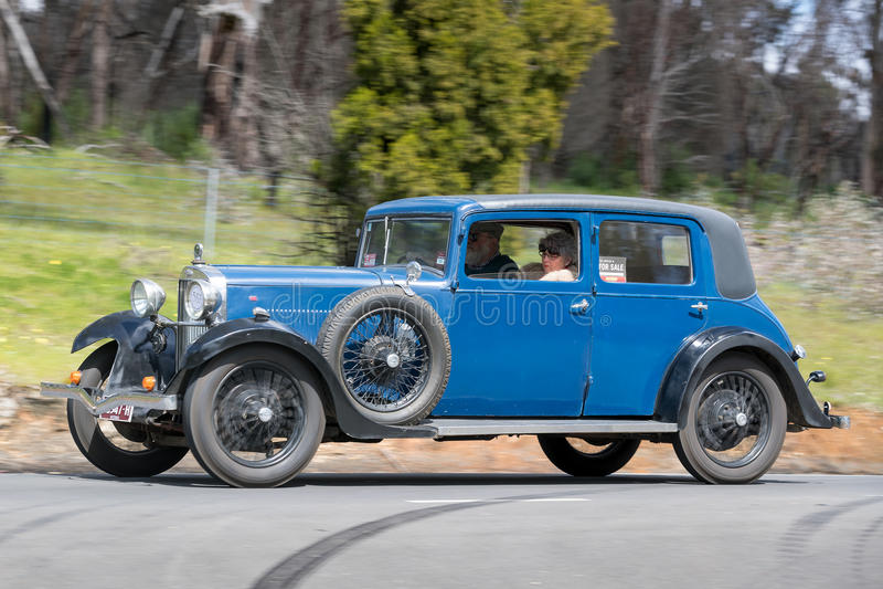 1932年福特B轿车 库存图片