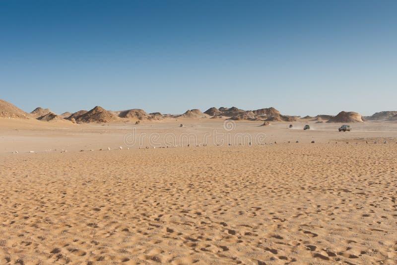离开撒哈拉大沙漠 免版税图库摄影