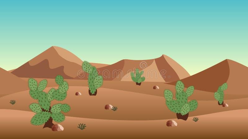 插画 包括有 抽象, 沙漠, 沙丘, 气候, 工厂, 季节 - 100854882