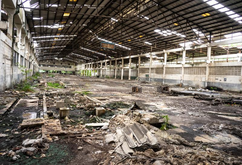 离开的工厂 图库摄影
