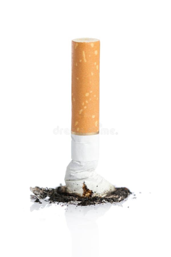 离开的抽烟的概念 图库摄影