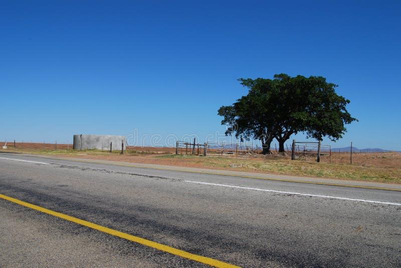 离开的高速公路 库存图片