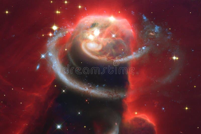 秀丽外层空间 科幻墙纸的幻想理想 库存图片