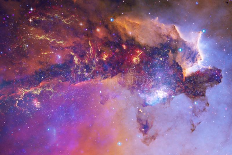 秀丽外层空间 科幻墙纸的幻想理想 向量例证
