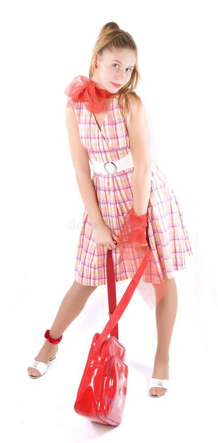 秀丽女孩 免版税库存图片