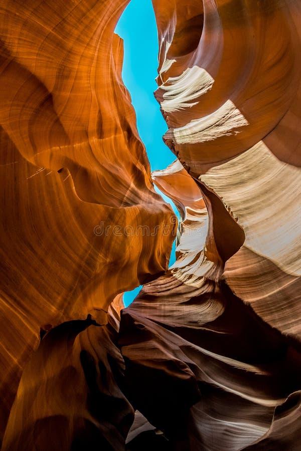 秀丽本质上 古雅羚羊峡谷在亚利桑那,美国 免版税库存图片