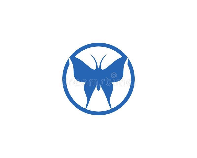 秀丽蝴蝶象设计 库存例证
