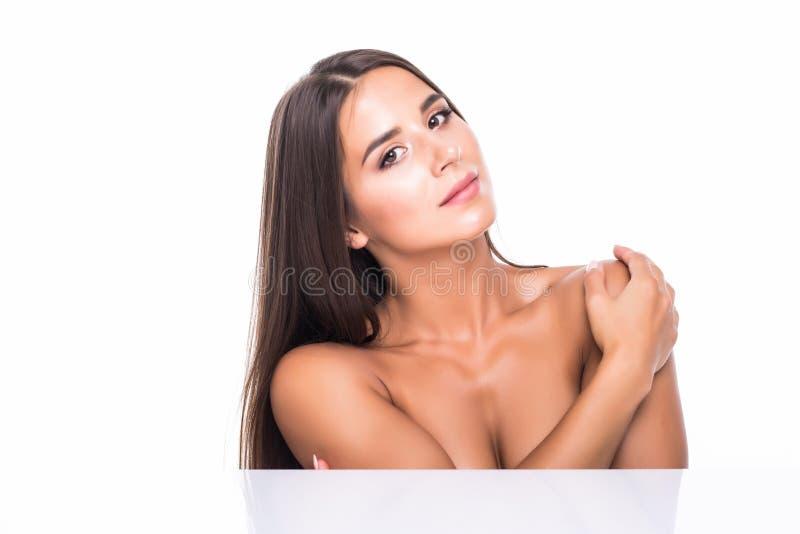 秀丽表面 r r 特写镜头 整容术 Skincare 库存图片