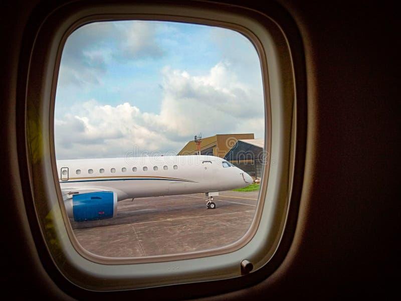 私人喷气式飞机 库存图片