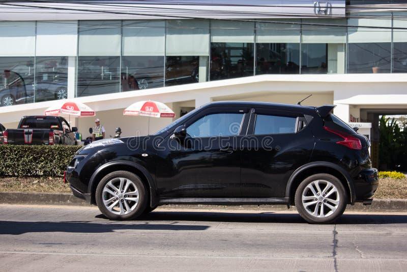 私人汽车,日产Juke 免版税图库摄影