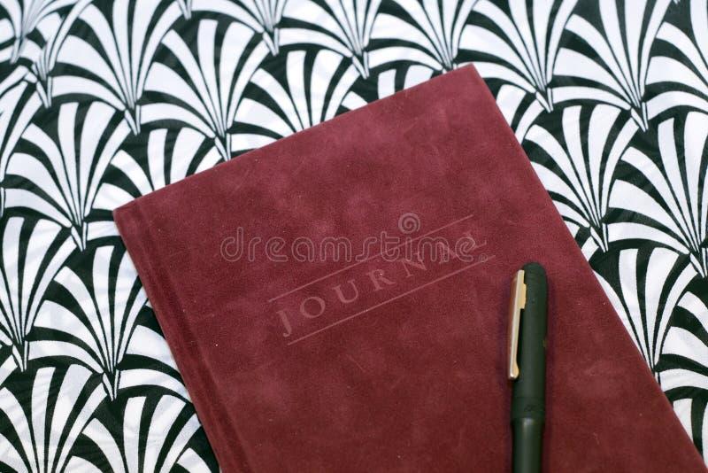 私有的日记帐 库存照片