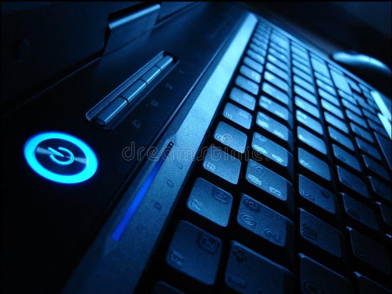 私有的计算机 免版税库存图片