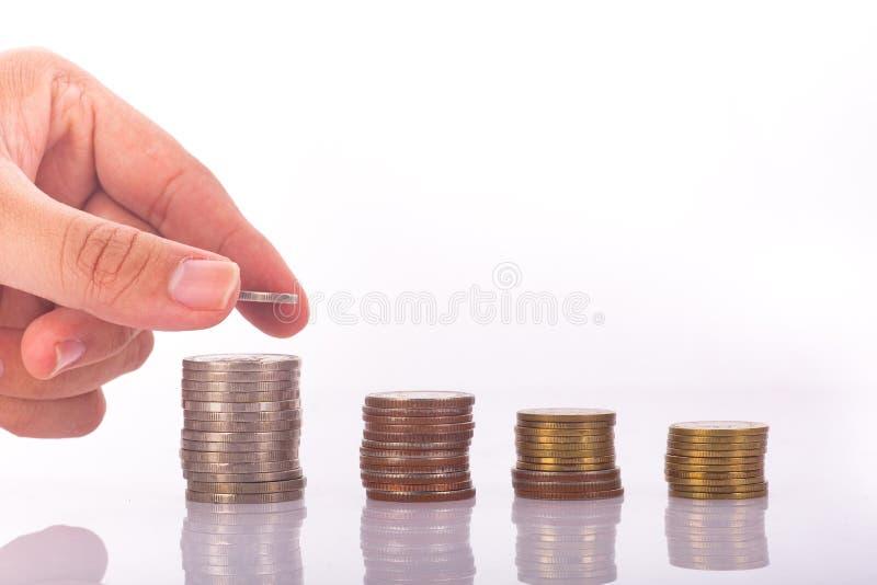 私有的财务 免版税库存照片