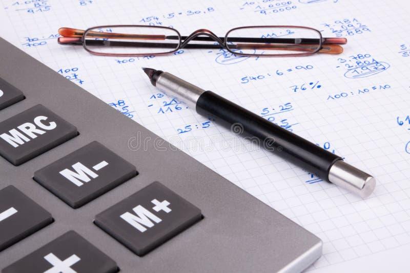 私有的财务 免版税库存图片