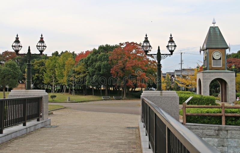 秋叶秋天公园叶子 免版税库存照片