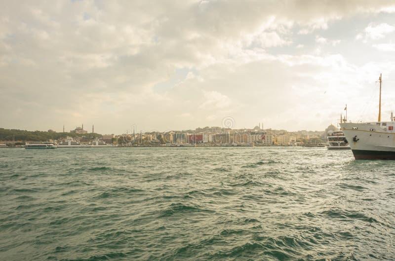 秋天伊斯坦布尔 库存图片