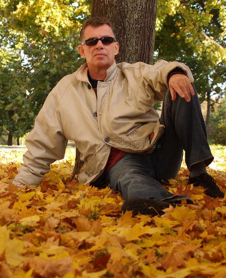 秋天冷静帮会没有 免版税库存照片