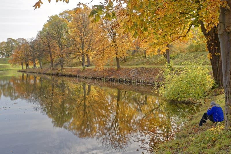 秋天在丹麦 图库摄影