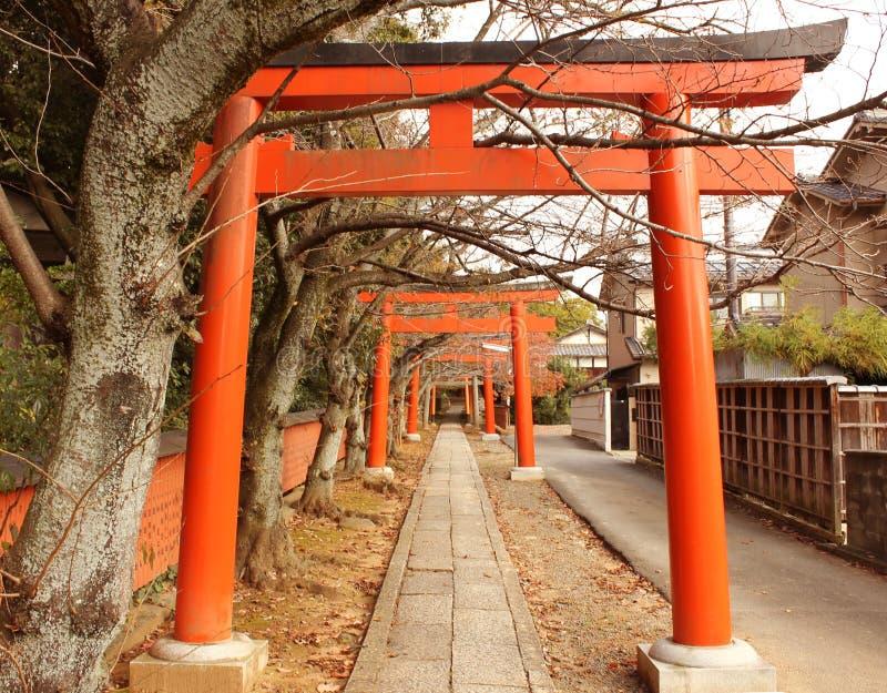 秋天在京都,日本 免版税库存照片