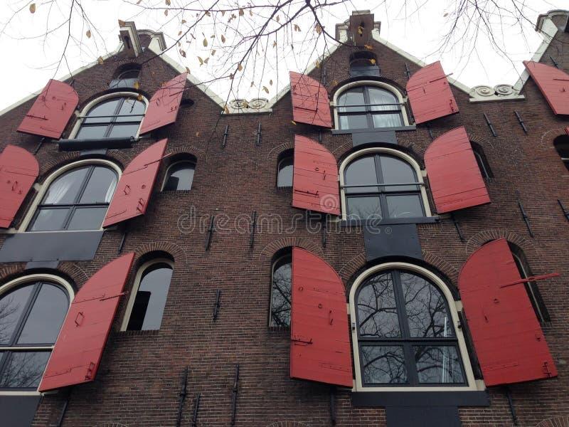 秋天在阿姆斯特丹,荷兰 库存图片