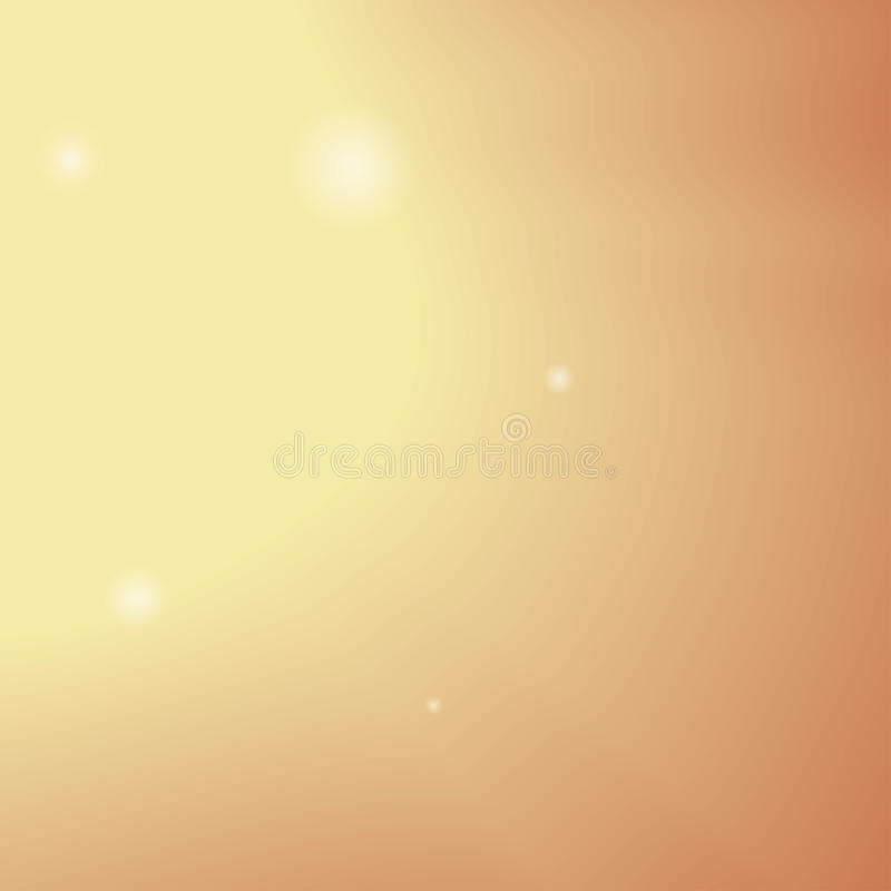 秋天日落光 抽象背景 免版税库存照片