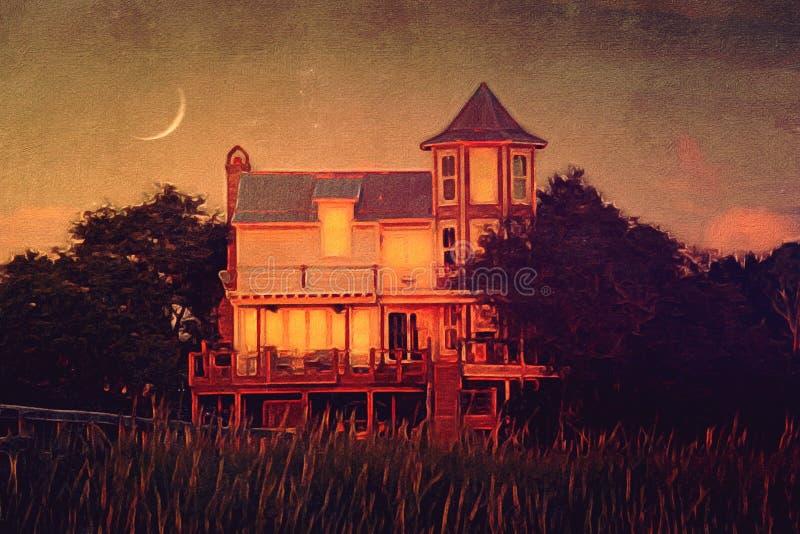 秋天昼夜平分点 图库摄影