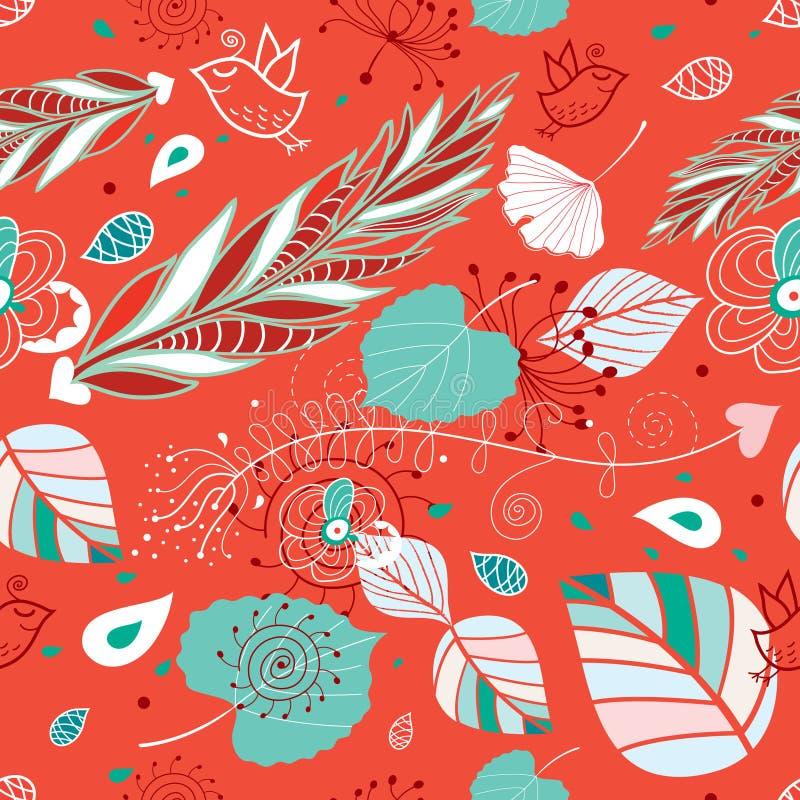 Download 秋天绿色留下纹理 向量例证. 插画 包括有 蓝色, 模式, 红色, 照亮, 装饰, 自治权, 要素, 叶子 - 15695754
