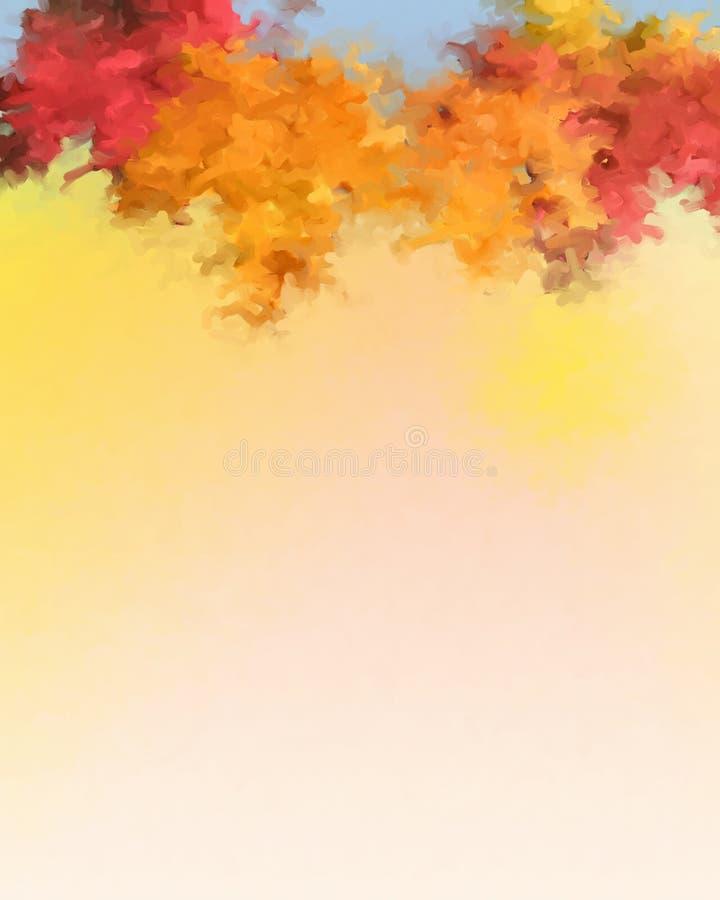 秋天背景叶子 免版税图库摄影
