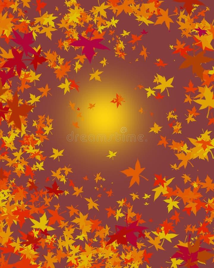 秋天背景叶子