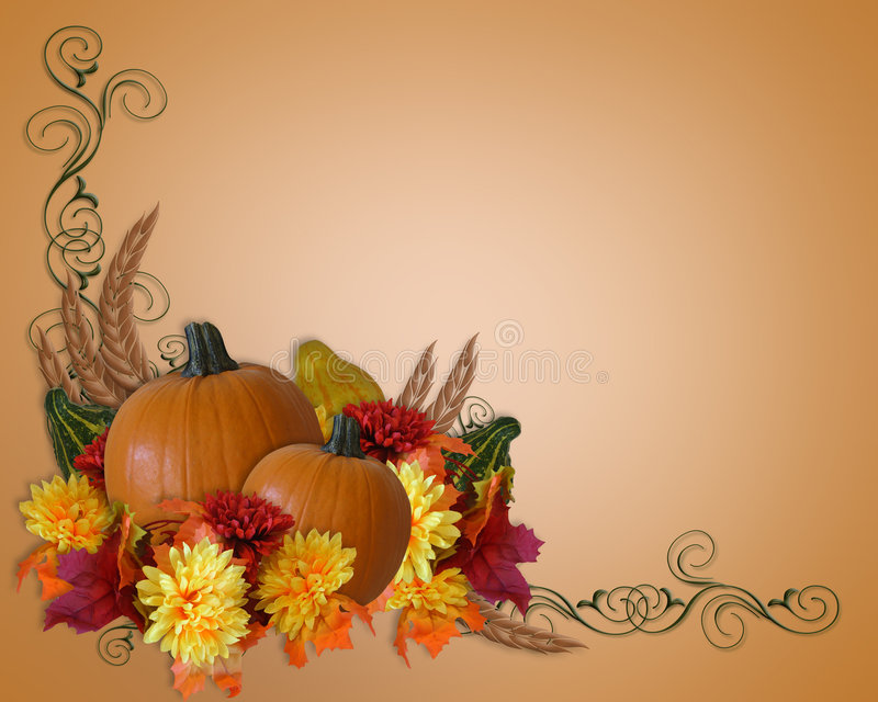 秋天背景秋天感恩