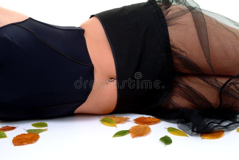 秋天蓝色颜色 免版税图库摄影