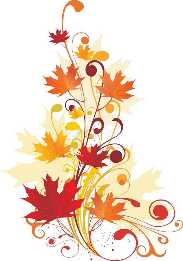秋天装饰品 库存图片