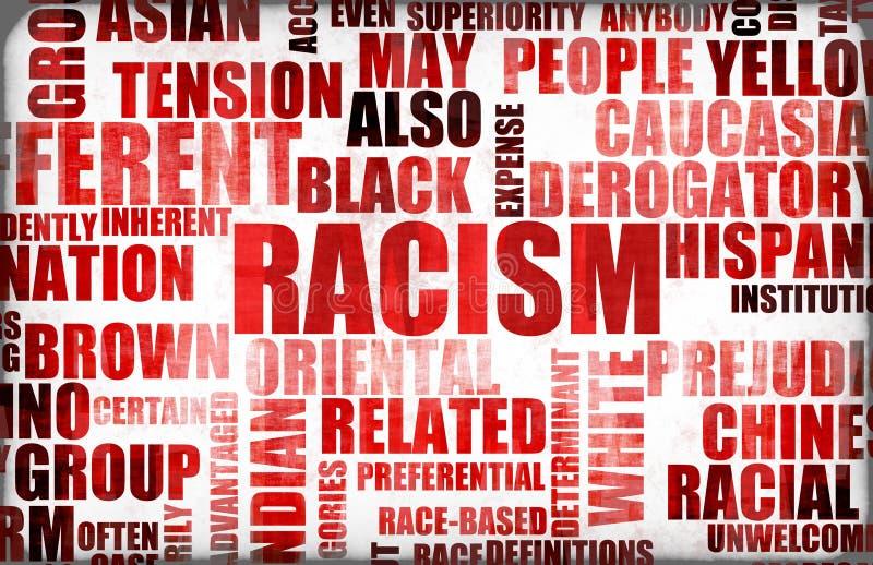 种族主义 库存例证