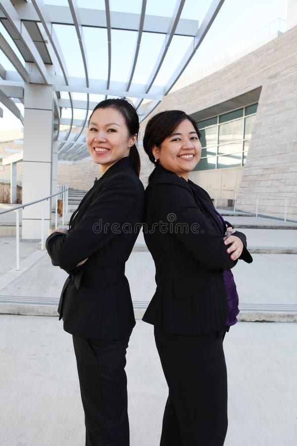 种族妇女企业小组 免版税库存图片