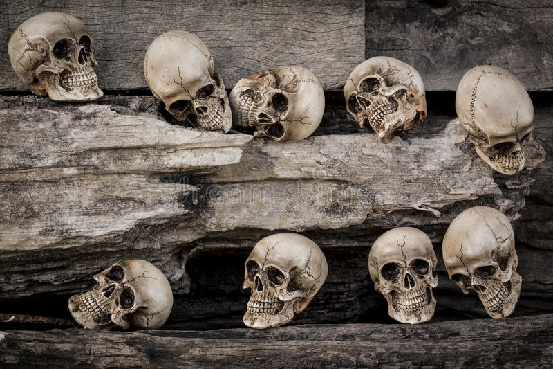 种族灭绝 库存照片