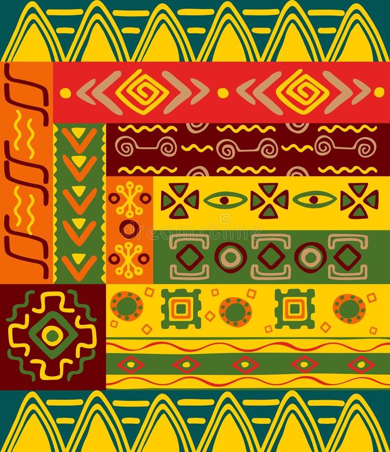 种族装饰品模式 皇族释放例证