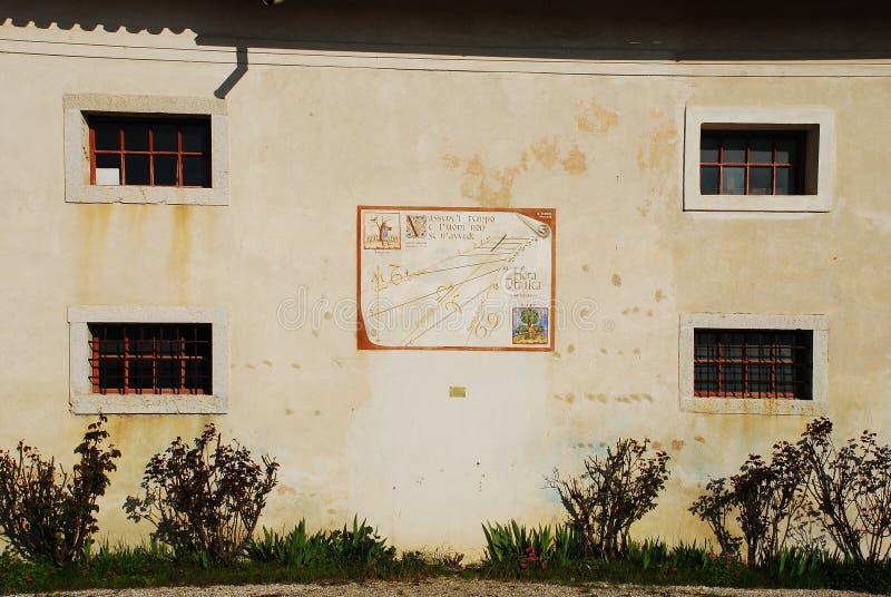 种田文化博物馆的Friulian 免版税库存图片