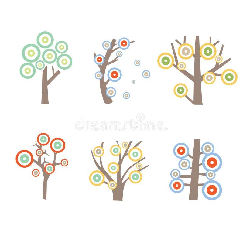 种类图表树 皇族释放例证