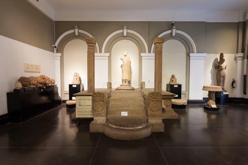 科伦坡国家博物馆  免版税库存图片