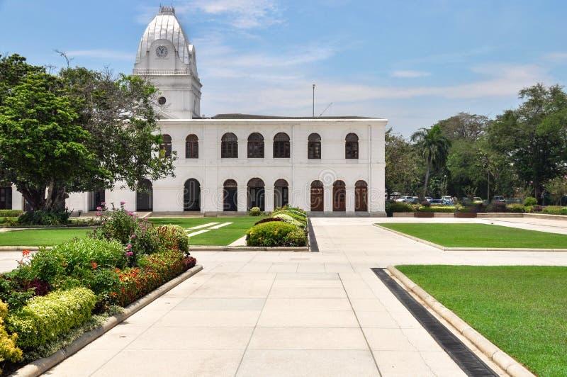 科伦坡,斯里兰卡- 2018年3月17日:拱廊独立正方形 免版税图库摄影