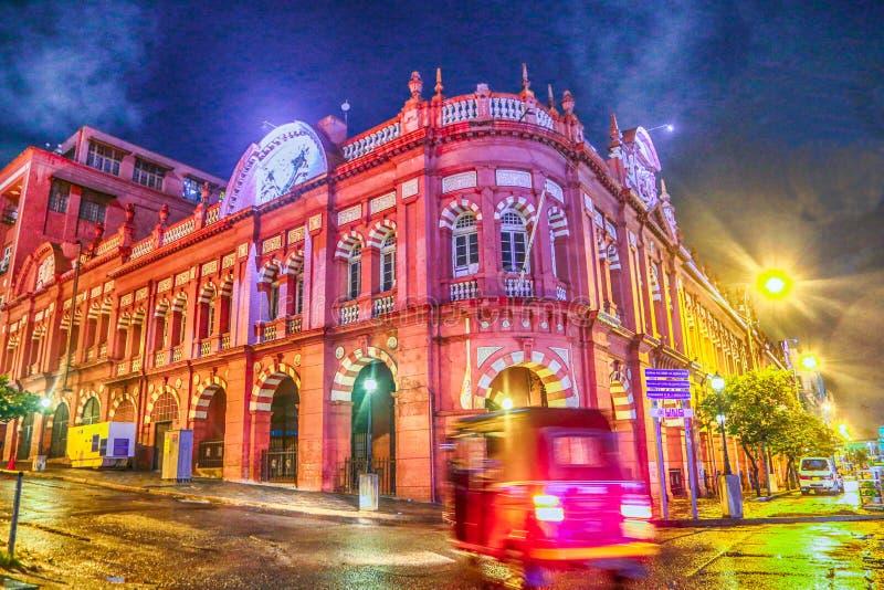 科伦坡,斯里兰卡cargills大厦 库存照片