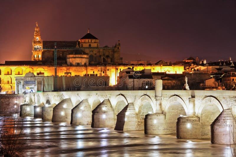 科多巴极大的mezquita清真寺西班牙 免版税库存图片
