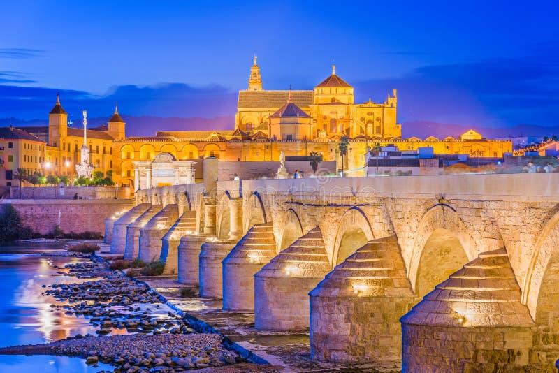 科多巴,西班牙地平线 免版税库存图片