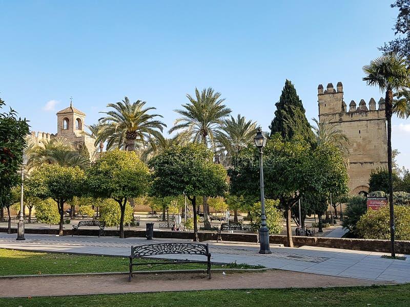 科多巴,西班牙看法  免版税图库摄影