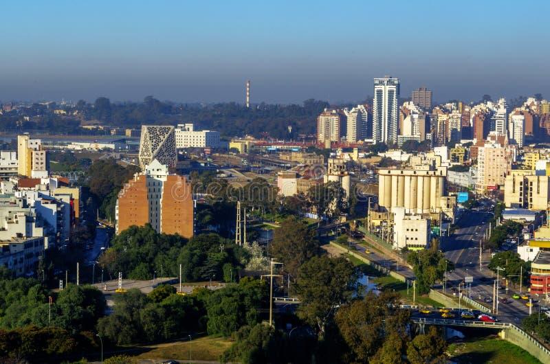 科多巴视图都市风景 图库摄影