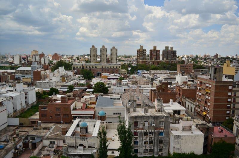 科多巴都市风景 库存照片