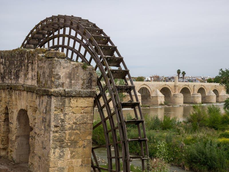科多巴,安大路西亚,西班牙罗马桥梁  2015年4月3日 免版税图库摄影